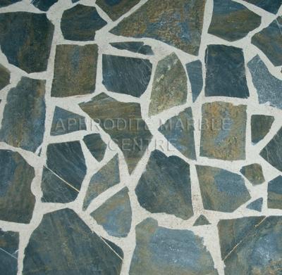 Flagstones Grijs - Blauw