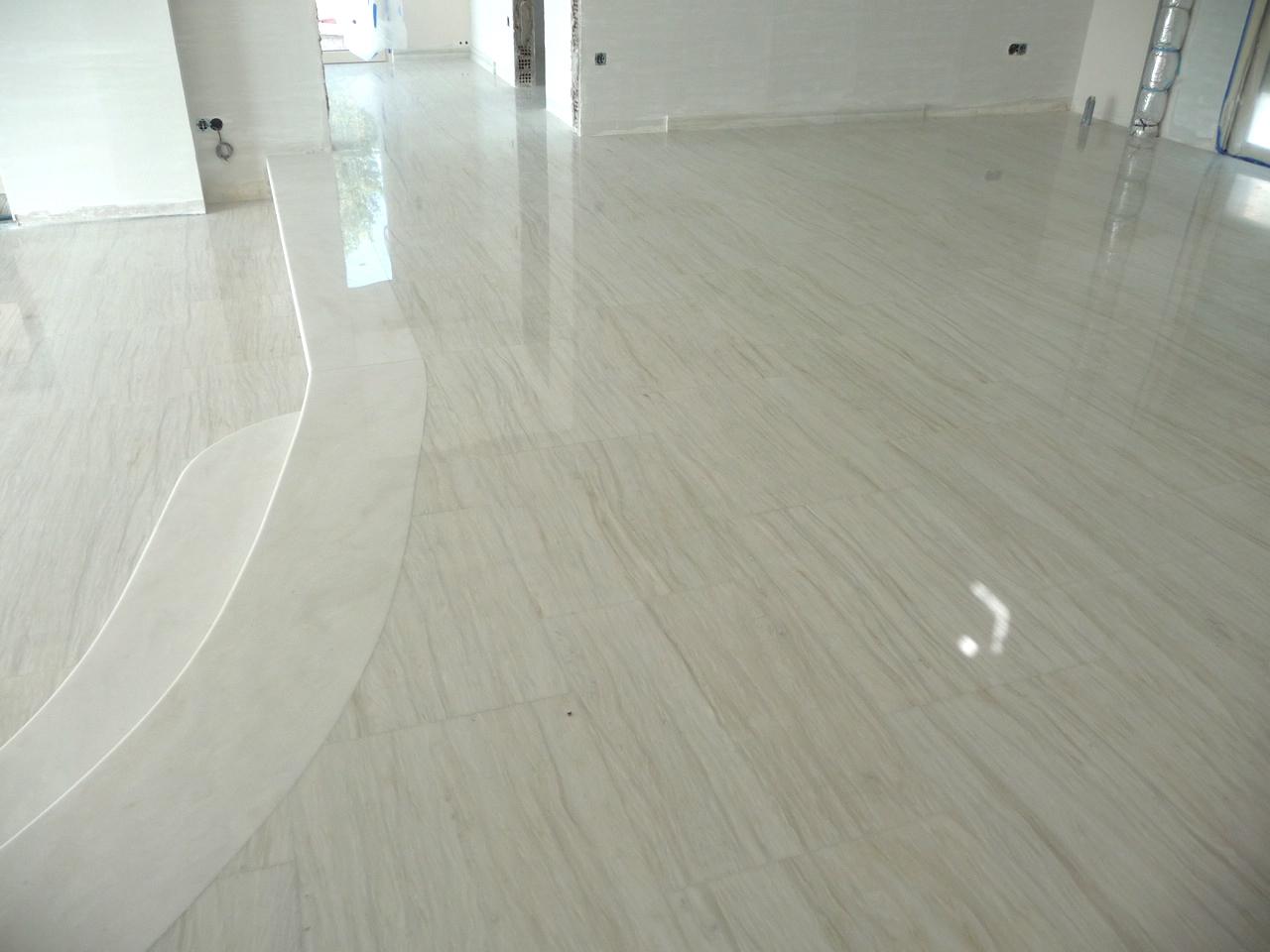 Wit marmer aphrodite marble centre natuurstenen vloer leverancier marmer graniet flagstones - Luxe marmer ...