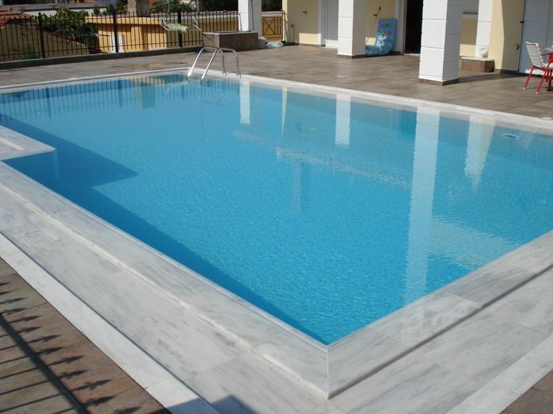 Zwembad Randen Aphrodite Marble Centre Natuurstenen